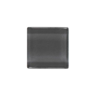 Daltile Isis Glass Mosaic 1 x 1 Mesh Mounted Smoke Gray Tile & Stone