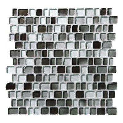 Daltile Jewel Tide Mosaics Silver Stone Tile & Stone