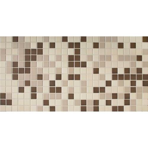 Daltile Keystones Blends 1 x 1 Chocolate Tile & Stone