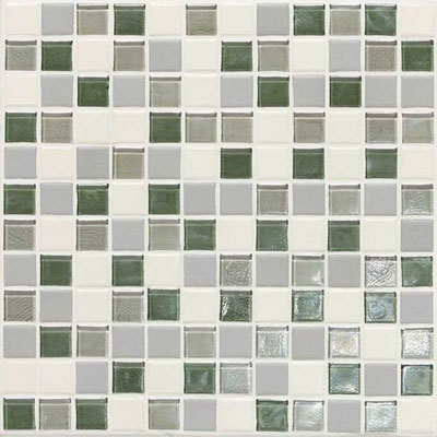 Daltile Keystones Coastal 1 x 1 Caribbean Palm Blend Tile & Stone
