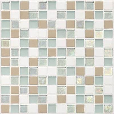 Daltile Keystones Coastal 1 x 1 Trade Wind Blend Tile & Stone
