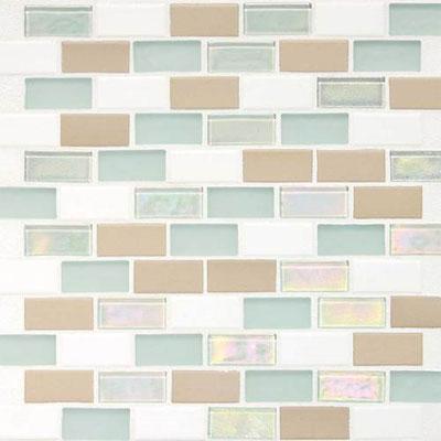 Daltile Keystones Coastal 2 x 1 Offset Tradewind Blend Tile & Stone