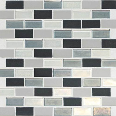 Daltile Keystones Coastal 2 x 1 Offset Tropical Thunder Blend Tile & Stone
