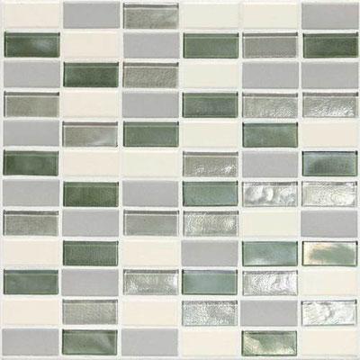 Daltile Keystones Coastal 2 x 1 Straight Caribbean Palm Blend Tile & Stone