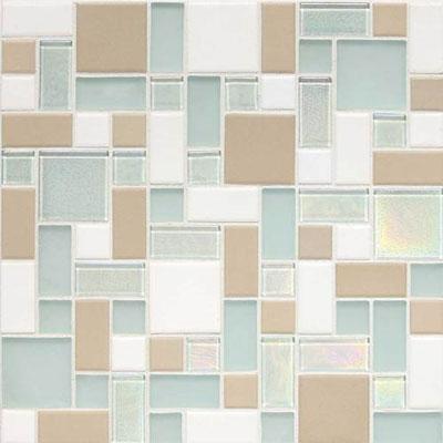 Daltile Keystones Coastal Random Block Tradewinds Blend Tile & Stone