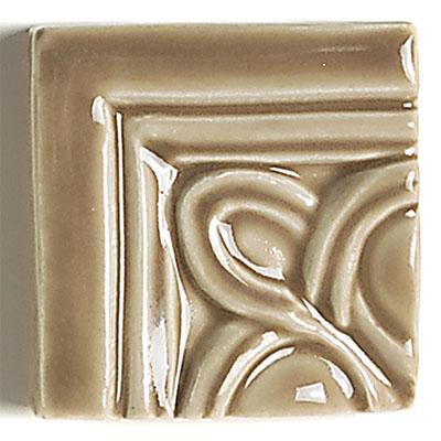 Daltile La Marque Moldings Camel Circle Molding Corner 3 x 3 Tile & Stone