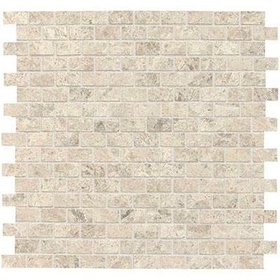 Daltile Limestone Brick Joint Mosaic Arctic Gray Polished Tile & Stone