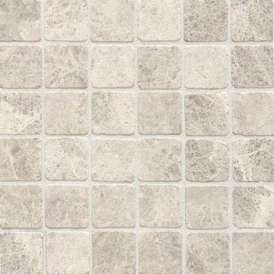 Daltile Limestone Mosaic 2 x 2 Arcitic Gray Tumbled Tile & Stone