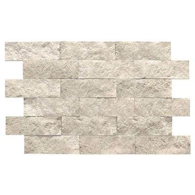 Daltile Limestone Split Face Mosaic Arctic Gray Tile & Stone