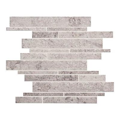 Daltile Limestone Random Linear Mosaic Arctic Gray Tile & Stone