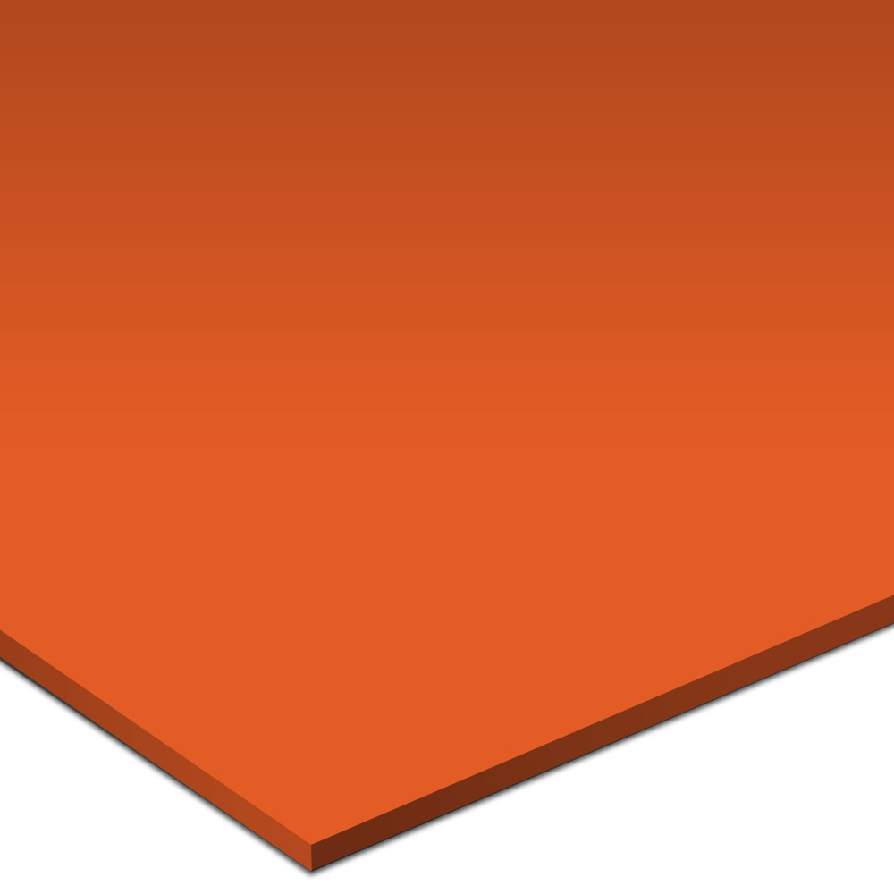 Daltile Liners Flat 1 x 6 Orange Burst Tile & Stone