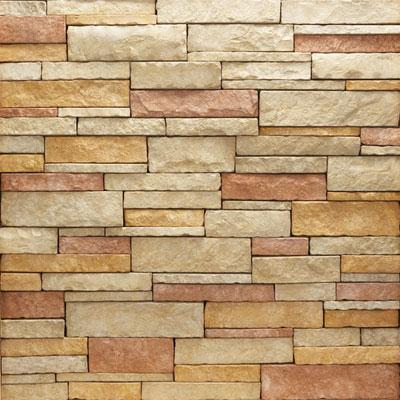 Daltile Manuf. Stone - Mesa Ledge Stack (Box) Amber Sun Tile & Stone