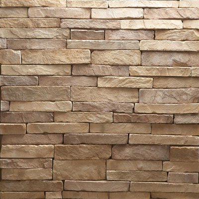 Daltile Manuf. Stone - Mesa Ledge Stack (Box) Autumn Bronze Tile & Stone
