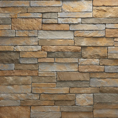 Daltile Manuf. Stone - Mesa Ledge Stack (Box) Canyon Fog Tile & Stone