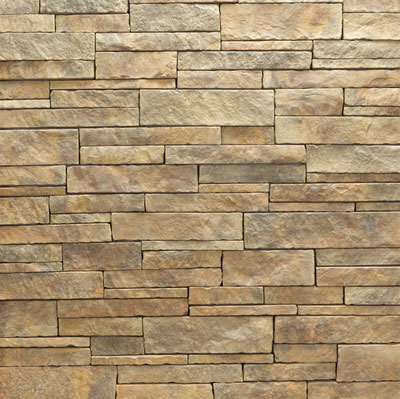 Daltile Manuf. Stone - Mesa Ledge Stack (Box) Spring Moss Tile & Stone
