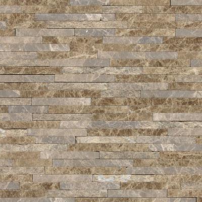Daltile Marble 3/8 x Random Mosaic Emperador Light Classic Tile & Stone