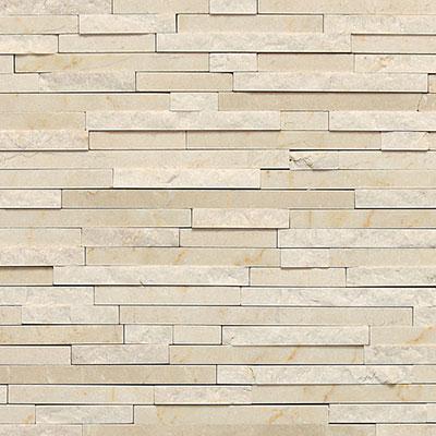 Daltile Marble 3/8 x Random Mosaic Crema Marfil Classico Tile & Stone
