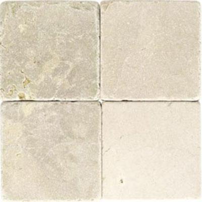 Daltile Marble 12 x 12 x 3/8 Tumbled Crema Marfil Classico Tile & Stone