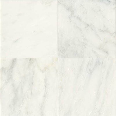 Daltile Marble 12 x 12 Honed First Snow Elegance Honed Tile & Stone