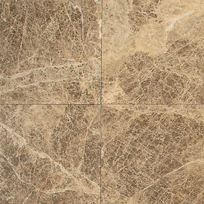 Daltile Marble 12 x 12 Polished Emperador Light Classic Tile & Stone