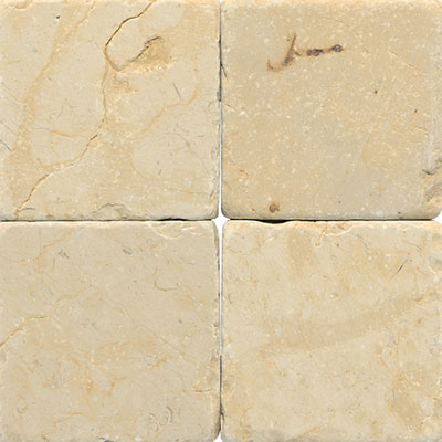 Daltile Marble 16 x 16 x 1/2 Tumbled Champagne Gold Tile & Stone