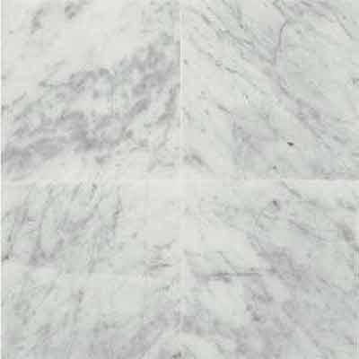 Daltile Marble 18 x 18 X 3/8 Polished Carrara White Tile & Stone