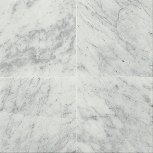 Daltile Marble 18 x 18 Honed Carrara White Honed Tile & Stone
