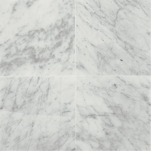 Daltile Marble 18 x 18 Honed Carrara White Honed Tile & Stone