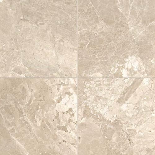 Daltile Marble 18 x 18 Honed Meili Sand Honed Tile & Stone