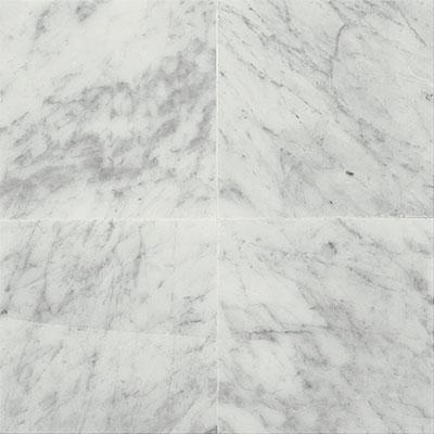 Daltile Marble 18 x 18 Polished Carrara White Polished Tile & Stone