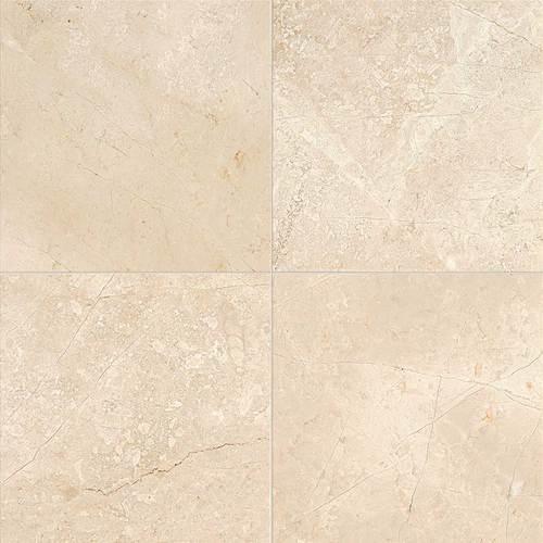 Daltile Marble 18 x 18 Polished Phaedra Cream Polished Tile & Stone