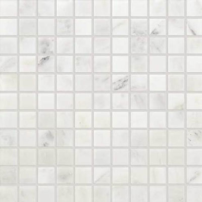 Daltile Marble 1 x 1 Mosaic First Snow Elegance Honed Tile & Stone