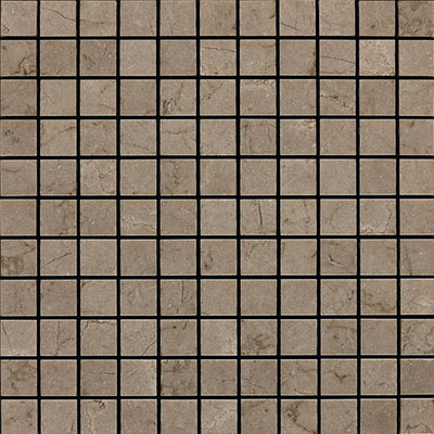 Daltile Marble 1 x 1 Mosaic Silver Screen Honed Tile & Stone