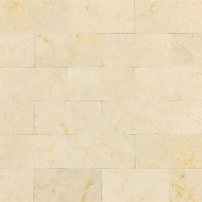 Daltile Marble 3 x 6 (All the other Marbles) Crema Marfil Classico Polished Tile & Stone