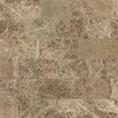 Daltile Marble 3 x 6 (All the other Marbles) Emperador Light Polished Tile & Stone