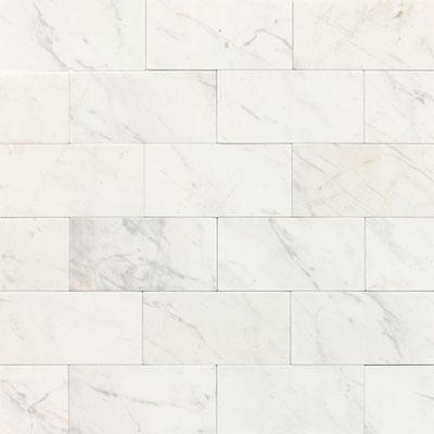 Daltile Marble 3 x 6 Contempo White Honed Tile & Stone