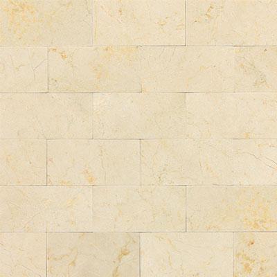 Daltile Marble 3 x 6 Crema Marfil Classico Honed Tile & Stone
