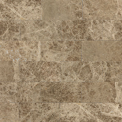 Daltile Marble 3 x 6 Emperador Light Classic Polished Tile & Stone