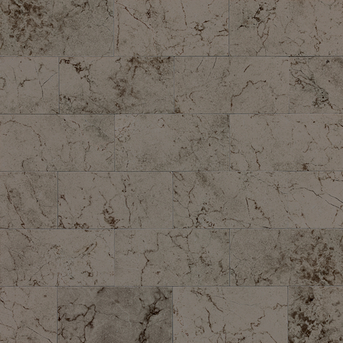 Daltile Marble 3 x 6 Silver Screen Cross Cut Polished Tile & Stone