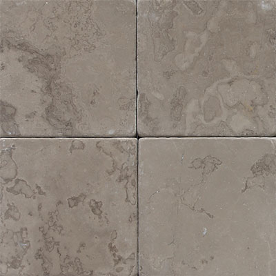 Daltile Marble 4 x 4 Silver Screen Tumbled Tile & Stone