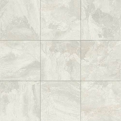 Daltile Marble Falls 12 x 12 Floor White Water Tile & Stone