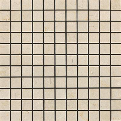 Daltile Marble Mosaic 1x1 Honed Crema Marfil Tile & Stone