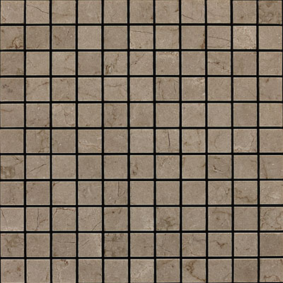 Daltile Marble Mosaic 1x1 Tumbled Silver Screen Tile & Stone