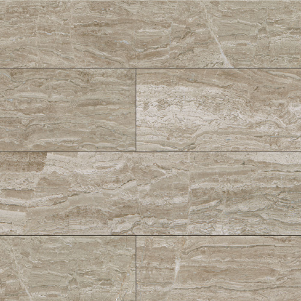 Daltile Marble Planks 6 x 36 Polished Stone River Vein Cut Polished Tile & Stone
