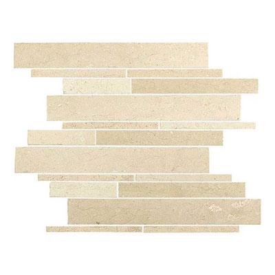 Daltile Marble Random Linear Mosaic Havana Tan Tile & Stone