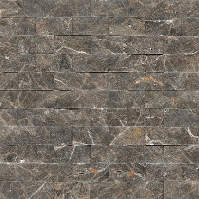 Daltile Marble Split Face Mosaic Emperador Dark Tile & Stone