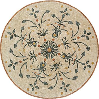 Daltile Medallions - Stone Medallions Giardino Polished Tile & Stone