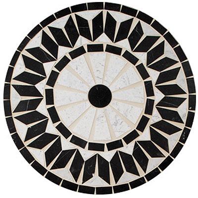 Daltile Medallions - Tumbled Stone Nova Tile & Stone