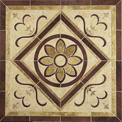 Daltile Medallions - Water Jet Medallions Floral 36 Tile & Stone