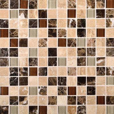 Daltile Melange Mosaic 1 x 1 Classic Tile & Stone